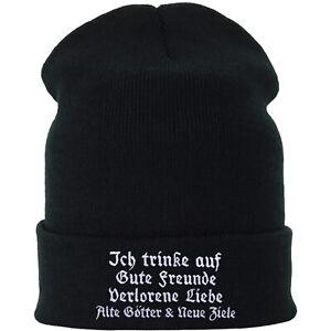 Rocker Mütze/Beanie/Haube: Gute Freunde, alte Götter, neue Ziele Damen/Herren
