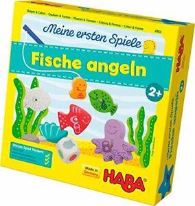 Haba 4983 - Meine ersten Spiele Fische angeln, spannendes Angelspiel