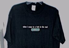 WHEN I COME TO A FORK IN THE ROAD I TAKE IT T SHIRT LARGE NEW W/TAGS