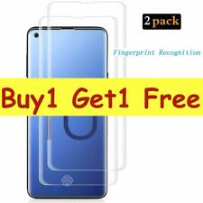 For Samsung Galaxy S10 Plus Tempered Glass Screen Protector 5D Curve-Clear