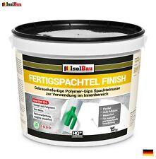 Spachtel masse 15 kg Fertigspachtel Finish Q1-Q4  Glätt Flächen Spachtelmasse