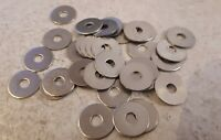 M4 4mm Stainless Steel Penny Repair Washers - 15 or 20 mm OD - Packs 10 or 20