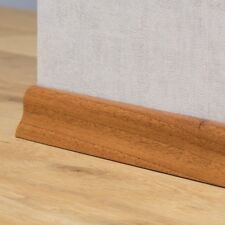 Sockelleisten / Laminat / Parkett - 40mm Classic - Nussbaum