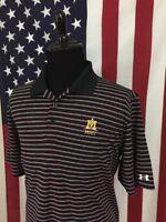 Under Armour Montana State University MSU Wicking Polo Shirt men's XL golf 7586