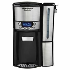 OPENED BOX Hamilton Beach 12-Cup Coffee Maker Programmable Dispensing Machine