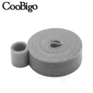 10mm Magic Tape Hook and Loop ONE WRAP Double Sided Strapping 1Meter Length
