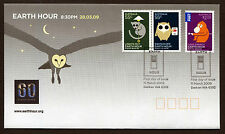 2009 Earth Hour FDC First Day Cover Stamps Australia