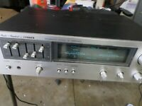 VINTAGE FISHER CA-2120 INTEGRATED STEREO AMPLIFIER JAPAN  Works FREE SHIPPING