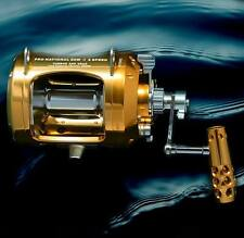 OKIAYA PRO NATIONAL 50W-II AXR DRAG 2 Speed  Reel Drag Big Game Reel