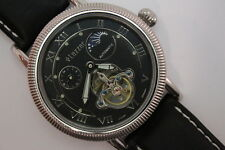 Lazzar Germany Automatik reloj pulsera de cuero