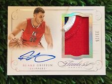 2014-15 BLAKE GRIFFIN PANINI FLAWLESS 3 CLR PATCH SIGNATURE AUTO #ED /25