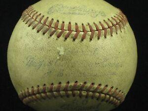 1950's Official Negro American League Baseball (J.B. Martin) Rawlings SCARCE