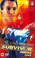 WWE Survivor Series 2003 Orig DVD WWF Wrestling Goldberg vs Triple-H