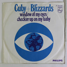 CUBY & BLIZZARDS: Window Of My Eyes / Checkin' Up On My Baby 45 (Netherlands,