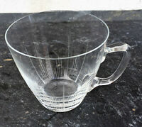 Bowle Tasse - Glas - Henkelglas - selten schönes aus den Fifties & Sixties