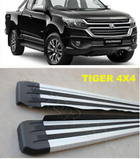 (#661)  Holden Colorado Space Cab Ute 2012 to 2018 Running Boards Side Steps