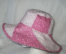 Wide Brim Unbranded 100% Cotton Hats for Women
