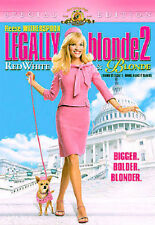 Legally Blonde 2: Red, White and Blonde (DVD, 2003, Special Edition) NEW