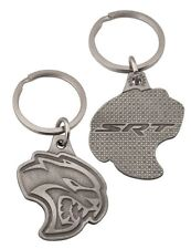 OFFICIALLY LICENSED DODGE HELLCAT SRT DIE CUT METAL KEY CHAIN CHALLENGER CHARGER