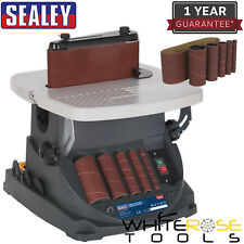 Sealey Oscillating Belt Spindle Bobbin Sander 230V 450W Woodwork Sanding