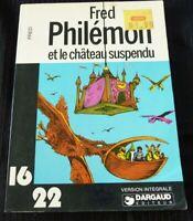 Soft Cover French Book Philémon et le Château Suspendu Dargaud 16/22 No.29