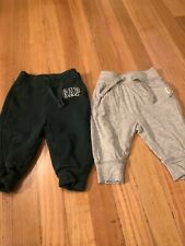 Baby Gap Infant Boys Green Gray Sweater Pants Lot Size 6–12 Months