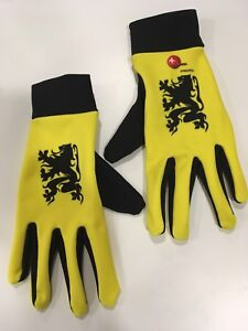D`Helvetia Middle Season Cycling Gloves Lion of Flander/Vlaanderen