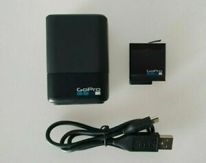 GoPro Dual Battery Charger + Battery for GoPro HERO 7 / 6 / 5 - Free Postage