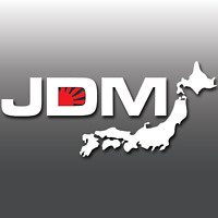 JDM Japanese Rising Sun Car Vinyl Decal Sticker | Honda | Mazda | Nissan | Lexus