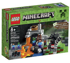 LEGO Minecraft The Cave 21113 Xmas Kid Gift building creative 249 pieces sealed