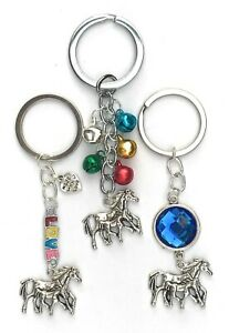 Horse and foal keyring - various designs