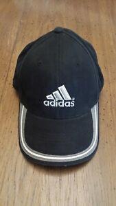 Adidas sports hat black/silver/gray adjustable