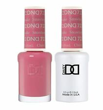 DND Daisy Soak Off Gel Polish Strawberry Cheesecake 722 LED/UV .5oz gel duo