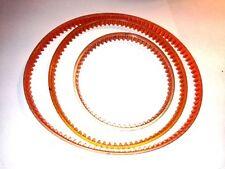 *New 3 BELT Set* PRECISION MULTI-PURPOSE Central Machinery Mini Lathe Mill 39743