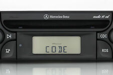 Code Service Radio Entsperrung Mercedes Audio 10 CD Alpine MF2910 Decodierung