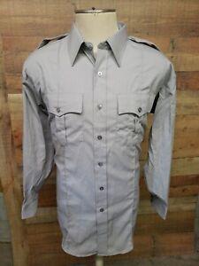 Flying Cross Police, EMT, Firefighter Uniform Men's LoSleeve Shirt Size 18 New