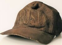 SIGNED BRONZE RHODE ISLAND SCHOOL OF DESIGN RISD STUDENT COLLEGE HAT SCULPTURE