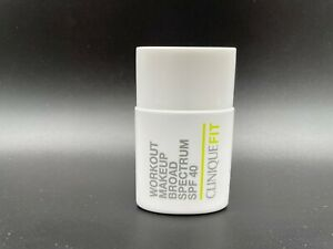 Clinique Fit Workout Makeup SPF40. New in Box~Choose Your Shade~ 1 oz/30ml