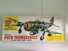 Guillow's Giant Scale P-47D Thunderbolt Us Air Force Ww2 Fighter Kit #1001