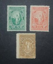 1889/90 SALVADOR STAMP COLLECTION mh.o.g plus free extras see pictures