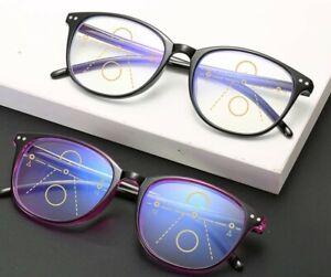 Gleitsichtbrille - Blaulichtfilter Blaufilter Lesebrille inkl. Filzetui Top