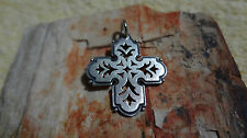 "James Avery 925 Retired Rare Sterling Silver Cross Pendant 1-1/8"" Long"