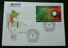 Argentina Jungle Healthy Burn Evokes Felling Of Trees 2004 (FDC) *hole *unusual