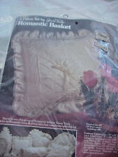 Collectible Pillow Kit By Yours Truly Romantic Basket 20 X 20 Nip Nos