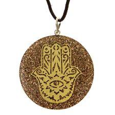 RALIEVA Hamsa Hand of Fatima Orgone Pendant