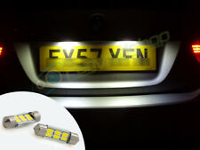 LED Rear Number Plate Bulbs Lights Replacement For Renault Megane 96+ Scenic