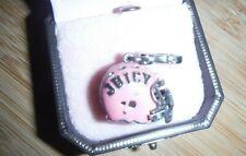Juicy Couture HELMET Bracelet silver Charm - YJRUOC48 VERY RARE