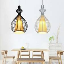 KAY Creative Ceiling Light Vintage Metal Chandelier Pendant Iron Lamp Decoration