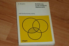 Albert Monjallon : Einführung in die moderne Mathematik / Mathematik - Didaktik