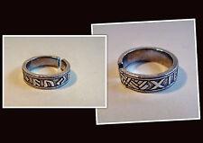 Museums Replik Wikinger FUTHARK Runen Ring 800 AD Nordmann Runenring
